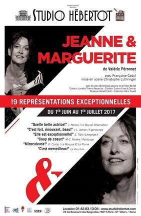 JEANNE ET MARGUERITE (Studio Hebertot)