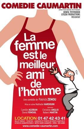 LA FEMME EST LE MEILLEUR AMI DE L'HOMME (Comédie Caumartin)