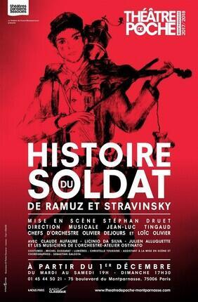 HISTOIRE DU SOLDAT (Théâtre de Poche Montparnasse)