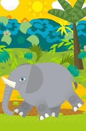 L'ENFANT D'ELEPHANT A Saint Etienne