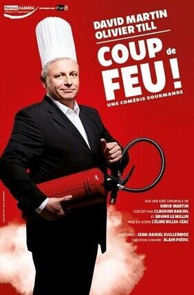 DAVID MARTIN DANS COUP DE FEU (Comedie de Nice)