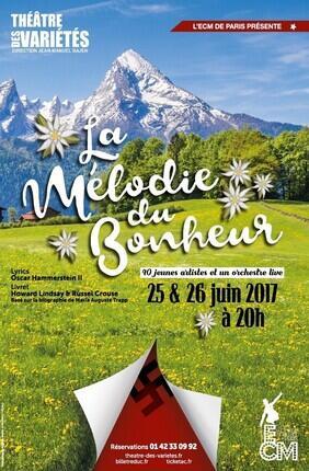 LA MELODIE DU BONHEUR (Theatre des Varietes)