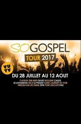 SO GOSPEL TOUR 2017 (Nice et Saint Laurent du Var)