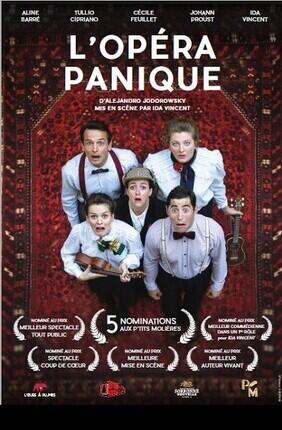 L'OPERA PANIQUE (Theatre Pixel)