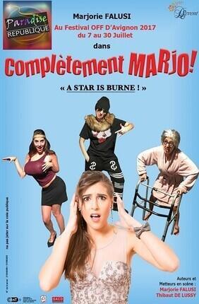 COMPLETEMENT MARJO ! A STAR IS BURNE