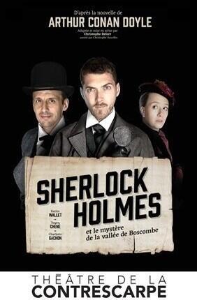 SHERLOCK HOLMES ET LE MYSTERE DE LA VALLEE DE BOSCOMBE ( La Contrescarpe)