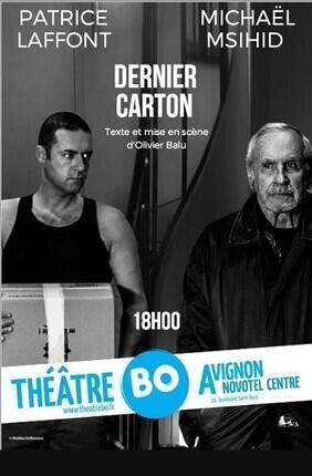 DERNIER CARTON AVEC PATRICE LAFFONT