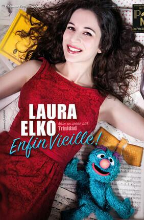 LAURA ELKO DANS ENFIN VIEILLE ! (Theatre BO Avignon)