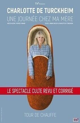 CHARLOTTE DE TURCKHEIM DANS UNE JOURNEE CHEZ MA MERE (Aix en Provence)