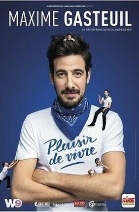 MAXIME GASTEUIL DANS PLAISIR DE VIVRE (Aix en Provence)