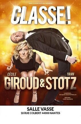 CECILE GIROUD ET YANN STOTZ DANS CLASSE ! (Salle Vasse)