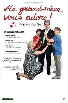 RAPHAEL MEZRAHI DANS MA GRAND-MERE VOUS ADORE (Compagnie du Cafe Theatre)