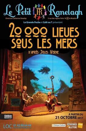 20 000 LIEUES SOUS LES MERS (Theatre le Ranelagh)