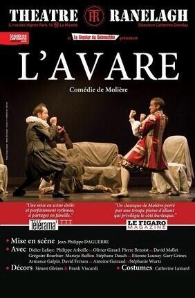 L'AVARE Au Theatre le Ranelagh