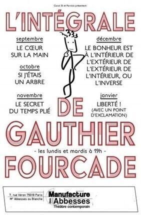 LIBERTE ! (AVEC UN POINT D'EXCLAMATION) DE ET AVEC GAUTHIER FOURCADE