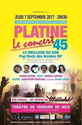 PLATINE 45 LE CONCERT