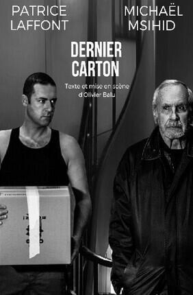 DERNIER CARTON AVEC PATRICE LAFFONT (Essaion Theatre)