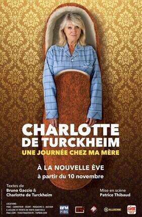 CHARLOTTE DE TURCKHEIM DANS UNE JOURNEE CHEZ MA MERE (La Nouvelle Eve)