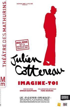 JULIEN COTTEREAU DANS IMAGINE-TOI (Théâtre des Mathurins)