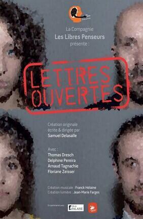 LETTRES OUVERTES (Theatre Menilmontant)