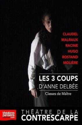 LES 3 COUPS D'ANNE DELBEE