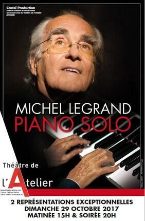 MICHEL LEGRAND - PIANO SOLO
