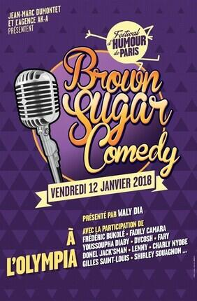 BROWN SUGAR COMEDY - FESTIVAL D'HUMOUR DE PARIS