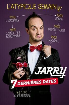 JARRY DANS ATYPIQUE (Comedie des Boulevards)