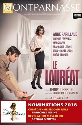 LE LAUREAT AVEC ANNE PARILLAUD