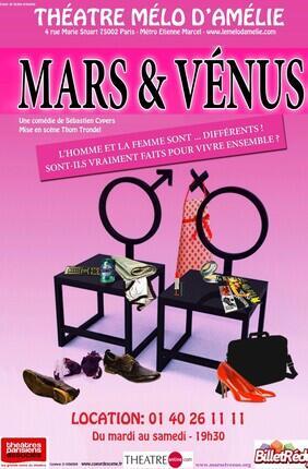 MARS ET VENUS (Le Mélo d'Amélie)
