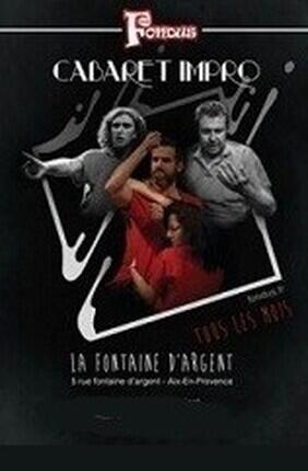 LES FONDUS DANS CABARET D'IMPRO (Aix en Provence)