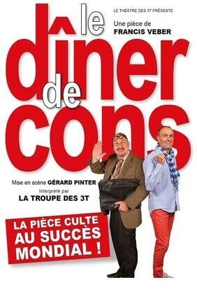 LE DINER DE CONS (Theatre 3T)