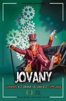 JOVANY - L'UNIVERS EST GRAND, LE SIEN EST COMPLIQUE (L'Archipel)