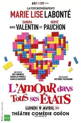 L'AMOUR DANS TOUS SES ETATS (Comedie Odeon)