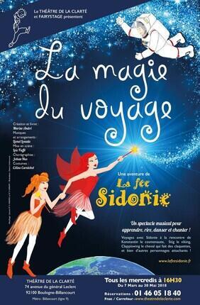 LA FEE SIDONIE ET LA MAGIE DU VOYAGE (Theatre de la Clarte)