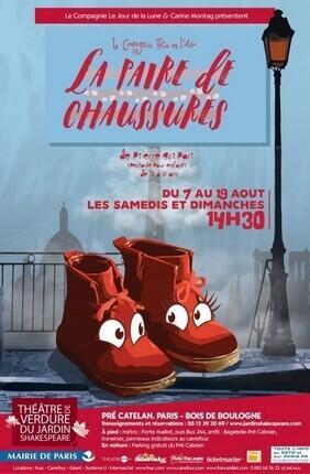 LA PAIRE DE CHAUSSURES (THEATRE DE VERDURE DU JARDIN SHAKESPEARE)