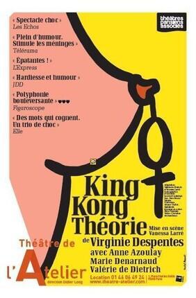 KING KONG THEORIE DE VIRGINIE DESPENTES