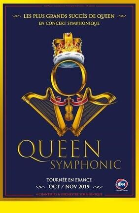 QUEEN SYMPHONIC - A ROCK AND ORCHESTRA EXPERIENCE