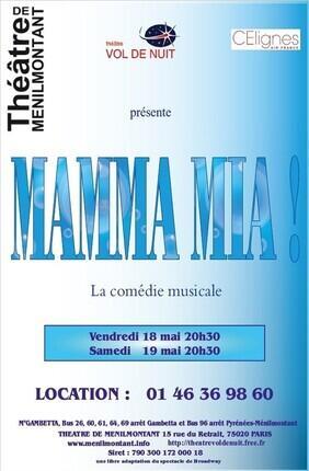 MAMMA MIA - LA COMEDIE MUSICALE
