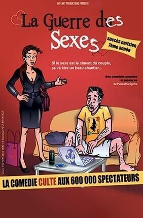LA GUERRE DES SEXES - Theatre Le Paris