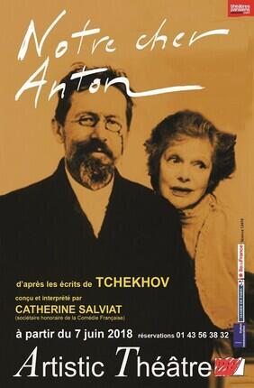 NOTRE CHER ANTON AVEC CATHERINE SALVIAT