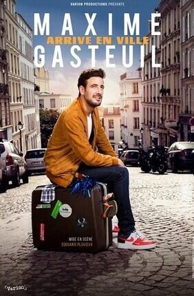 MAXIME GASTEUIL ARRIVE EN VILLE (Pace)