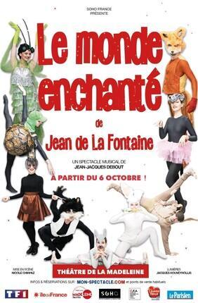 LE MONDE ENCHANTE DE JEAN DE LA FONTAINE