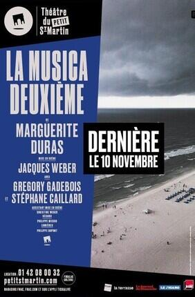 LA MUSICA DEUXIEME MIS EN SCENE PAR JACQUES WEBER