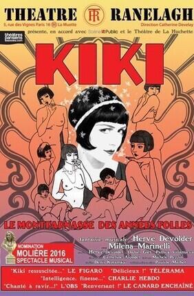 KIKI, LE MONTPARNASSE DES ANNEES FOLLES (le Ranelagh)