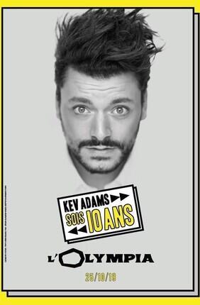 KEV ADAMS - TOURNEE SOIS 10 ANS
