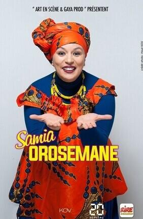 SAMIA OROSEMANE (Salle Vasse)