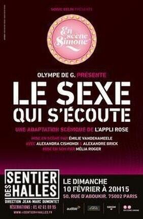 EN SCENE SIMONE - LE SEXE QUI S'ECOUTE