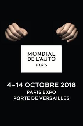 BILLET NON DATE MONDIAL PARIS MOTOR SHOW
