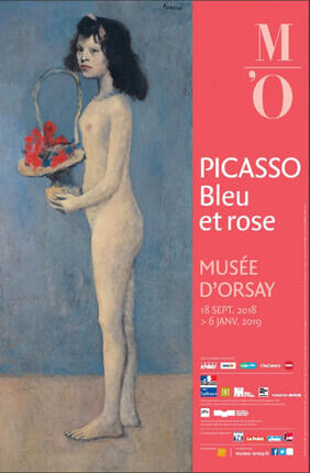MUSEE D'ORSAY : EXPOSITION PICASSO, BLEU ET ROSE